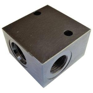 Bodies 2 Port Steel - Common Cavity