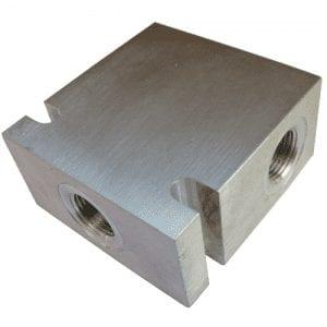 Bodies 3 Port Aluminium - Common Cavity