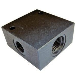 Bodies 3 Port Steel - Common Cavity