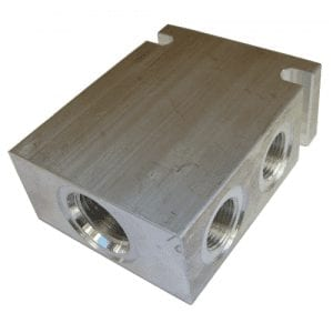 Bodies 4 Port Aluminium - Common Cavity