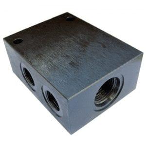 Bodies 4 Port Steel - Common Cavity