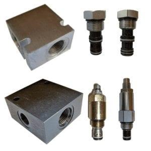 Common Cavity Cartridge Valves & Bodies